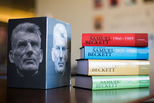 Beckett Letters Reception CUP Bookshop Cambridge The